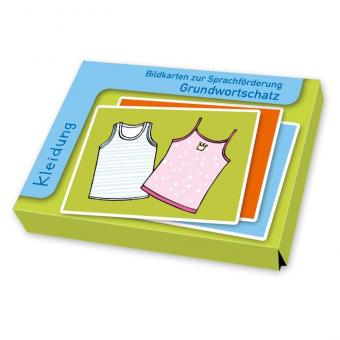 Sprachförderung mit Bildkarten Kleidung