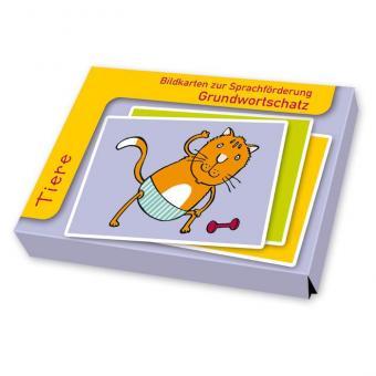 Sprachförderung mit Bildkarten Tiere