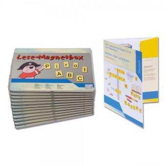 Lese-Magnetbox - Klassensatz, 25 Stück