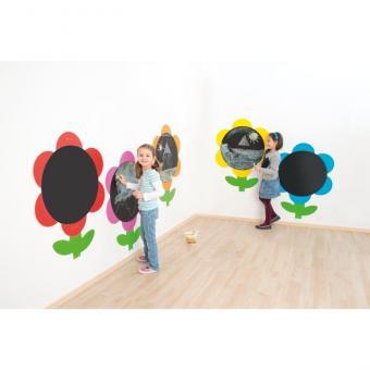 Blumen-Tafeln, 5er Set