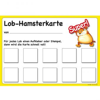 Lob-Hamsterkarte