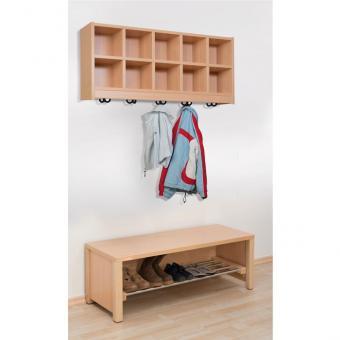 Garderoben-Set Lucky für 4 Kinder