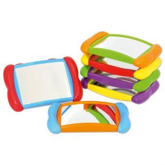 6 bunte Handspiegel 6 Spiegel ohne Holzbox