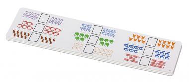 Aufgabenkarten für  die Rechen-Magnetbox Set 1