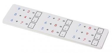 Aufgabenkarten für  die Rechen-Magnetbox Set 2