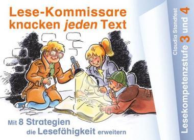 Lese-Kommissare Lesekompetenzstufe 3 und 4
