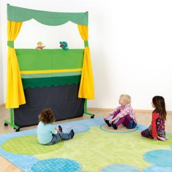 Puppentheater auf Rollen