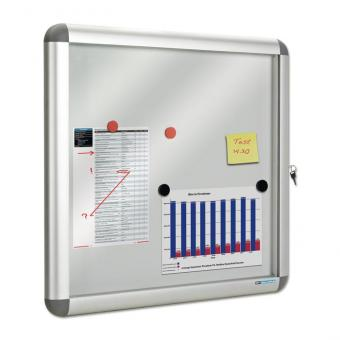 Info-Vitrine Rondo 9x DIN A4 – H x B: 100 x 76 cm