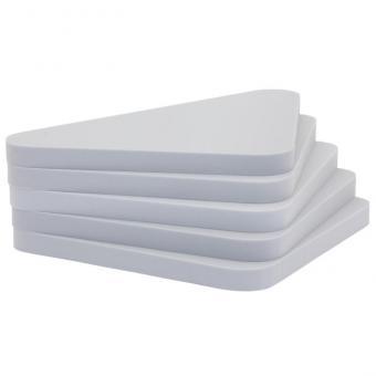 Dreieckige Schallabsorber-Platten Grau