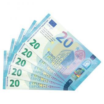 Neue Euro-Scheine 20-Euro