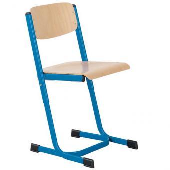 Schülerstuhl mit Doppel U-Fuß Größe 1 (34-42 cm) mit offenem Sitzträger