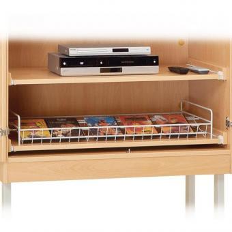 Rollzüge für DVDs und DVD-Player, Holz