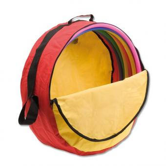 Hula-Hoop-Reifen, 10er-Set inkl. Tasche Ø 60 cm