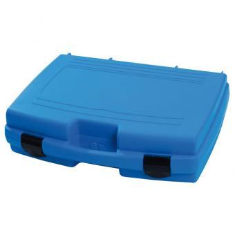 Blauer Transportkoffer