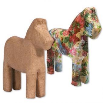 Pappmaché-Pferde 6 große