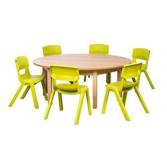 Spar-Set Rond P Tischhöhe 58 cm / Sitzhöhe 35 cm