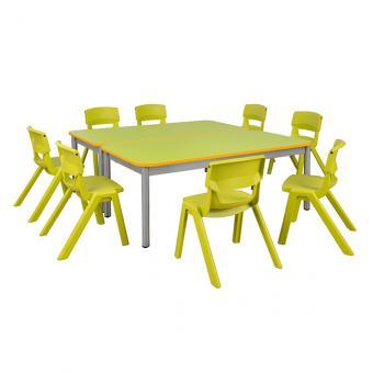 Spar-Set Doreck Bunt Tischhöhe 59 cm / Stuhlhöhe 35 cm