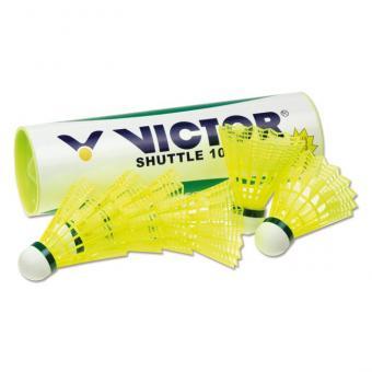 Shuttle 1000 Badminton-Bälle 6er-Set, gelb