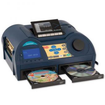 CD Sound Recorder 6121 mit Kassettenlaufwerk und CD-Rekorder