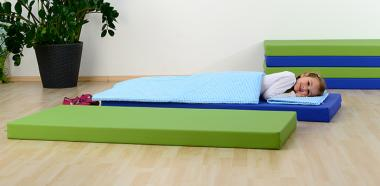 Schlaf-, Turn- und Tobematten, 140 cm Hellbraun