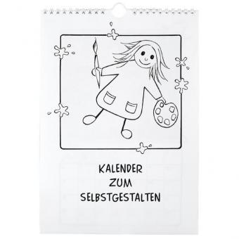 Kalender zum Selbstgestalten, 10er-Set, 30 x 21 cm