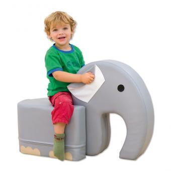 Soft-Sitzer Elefant