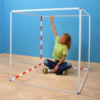 Kubikmeter-Aufbaumodell