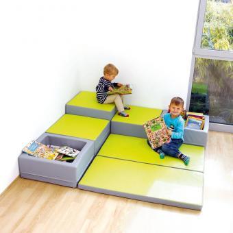Spielmatten Set 7 Farbe: Grün