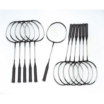 Alu-Line Badminton-Schläger, 12 Stück
