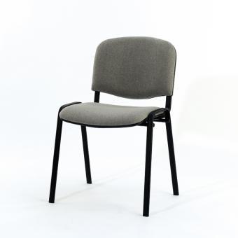 Stapelstuhl Reggi, mit schwarzem Gestell