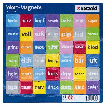 42 Wort-Magnete