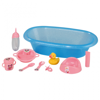 Badewanne und Zubehör