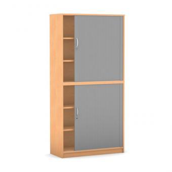 rollladen schr nke breite 94 4 cm 2 halbt ren mit mittelwand g nstig online kaufen. Black Bedroom Furniture Sets. Home Design Ideas