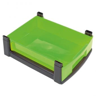 Flexeo Rahmensystem - Flache Box, einzeln, mit schwarzem Rahmen
