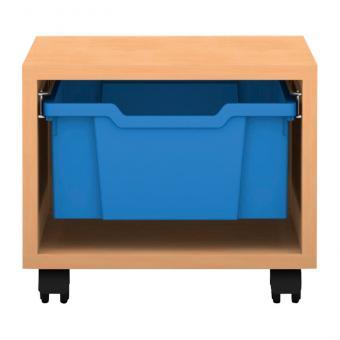 Regale Pro mit Boxen Höhe: 31,9 cm 1-reihig mit 1 hohen Box