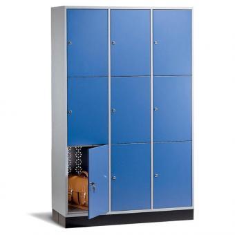 Schließfachschränke, Schließfachgröße: 58 x 26 x 46 cm
