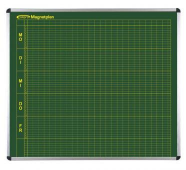 Klassenpläne - 8/10 Stunden-Tag für 25 Klassen in Grün