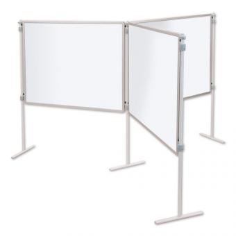 Spar-Sets: Stahlemaille weiß, feststehend