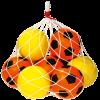 Schaumstoff Fuß- und Volleybälle, Spar-Set 2-2