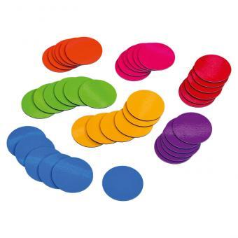 Buntes Magnete-Set