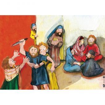 Kamishibai-Bildkarten, Mose und die zehn Gebote