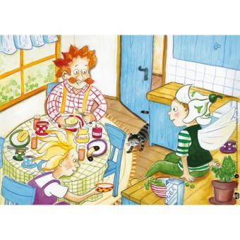 Kamishibai-Bildkarten, Frühling wird es nun bald