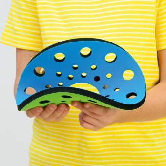 Wurfscheibe Neonflitzer Blau/Grün