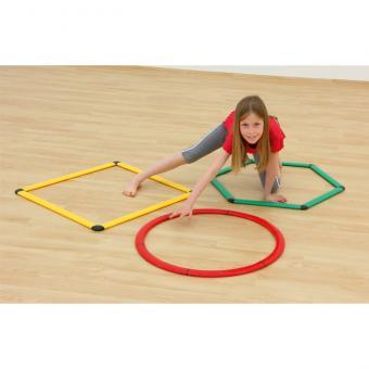 6er-Set mit geometrischen Formen