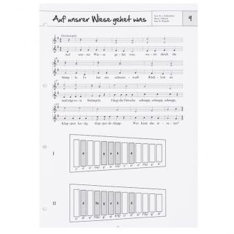 Musikordner: Singen mit Instrumentalbegleitung