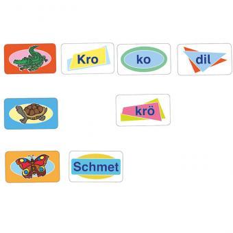 Silbensonne – Aus Silben Wörter bilden