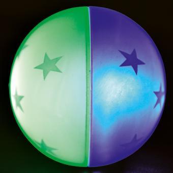 Sternchenball mit LED Blinklicht