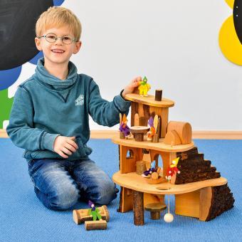 Holzbaumhäuser Baumhaus klein