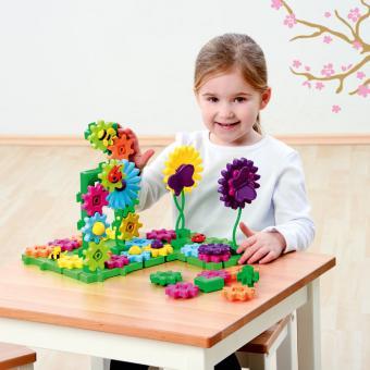 Blumen-Steckspiel