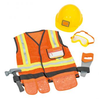 Kinder-Kostüm - Bauarbeiter